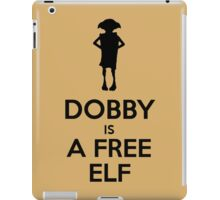Dobby Is A Free Elf iPad Case/Skin