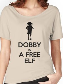 Dobby Is A Free Elf Women's Relaxed Fit T-Shirt