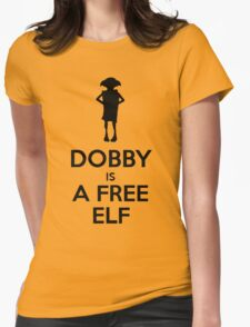 Dobby Is A Free Elf Womens Fitted T-Shirt