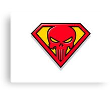 Super Punisher Logo Canvas Print