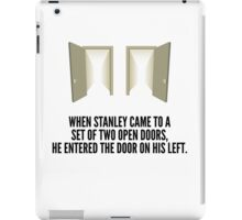 The Stanley Parable Doors iPad Case/Skin