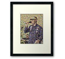 Marcel Borrack Framed Print