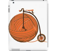Orange Yarn Farthing iPad Case/Skin