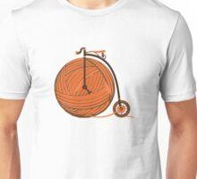 Orange Yarn Farthing Unisex T-Shirt
