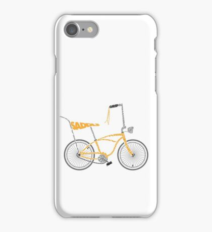 Anatomy of a Dragster Bike iPhone Case/Skin