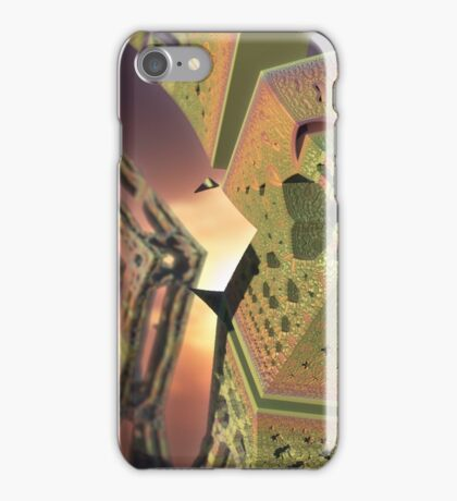 Alien Structures Found iPhone Case/Skin