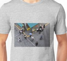Looking Down on Shoppers (2) T-Shirt