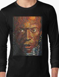 Afro Moses Long Sleeve T-Shirt