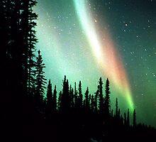 Rainbows at NIght by peaceofthenorth