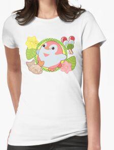 Pink Kawaii Penguin and Wagashi T-Shirt