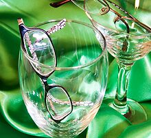 Glasses in Glasses by Lisa Williams