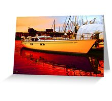 The Cruiser Greeting Card