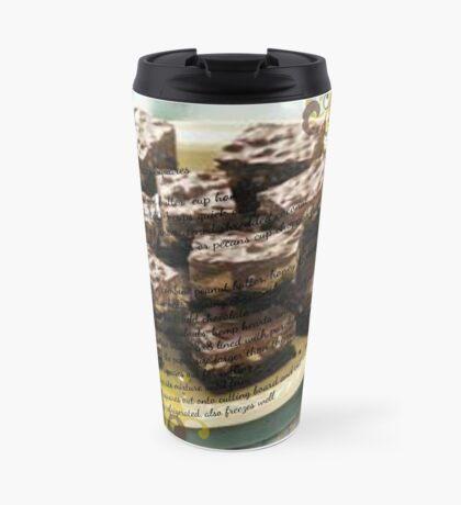 Peanut Butter & Chocolate Squares Travel Mug
