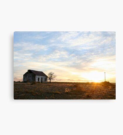 Pastel Sunrise. Canvas Print