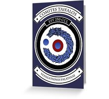Taifalos Family Crest (Coat of Arms) Greeting Card