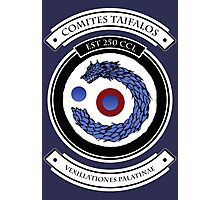 Taifalos Family Crest (Coat of Arms) Photographic Print
