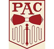 PAC Logo - Red Photographic Print