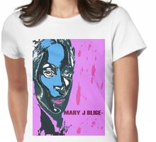 mary j blige Womens Fitted T-Shirt
