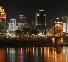 Cincinnati at Night by Lisa Williams