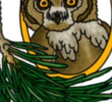 Owl Cut You Sticker