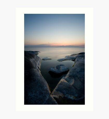 Stockholm Archipelago 4 Art Print