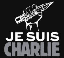 JE SUIS CHARLIE by thecrimsonpig