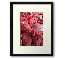 Ah, What We Eat...... Framed Print