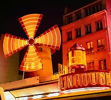 Moulin Rouge, Paris by chord0