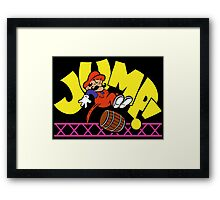 JumpMan! Framed Print