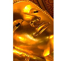 Golden buddha Photographic Print