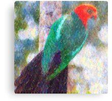 King Parrot I Metal Print