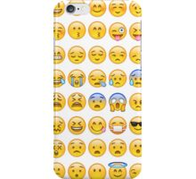 EMOJI iPhone Case/Skin