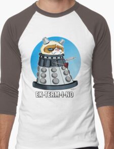Grumpy Dalek Men's Baseball ¾ T-Shirt