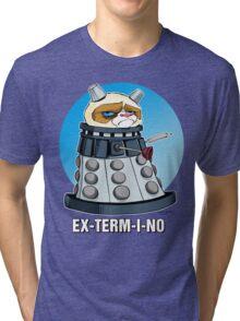 Grumpy Dalek Tri-blend T-Shirt