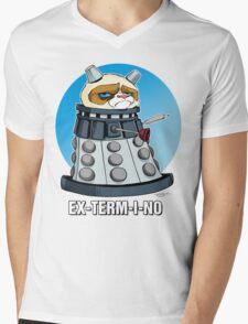 Grumpy Dalek Mens V-Neck T-Shirt