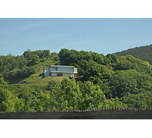 A house on a hill Photographic Print