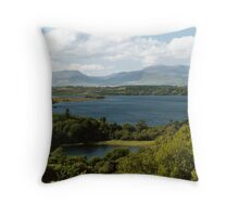 Lough Carragh 1 Throw Pillow