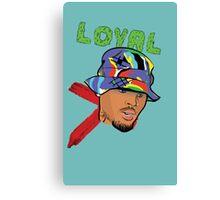 Chris Brown Loyal Canvas Print