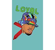 Chris Brown Loyal Photographic Print