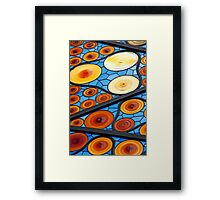 Art Glass Ceiling Framed Print