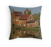 The Cottage Reflects Throw Pillow