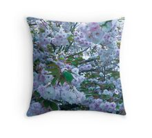 explosive flower tool at work! Throw Pillow