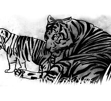 tigers by dregunrody