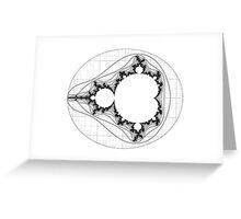 Mandelbrot series III Greeting Card