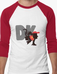 Diddy Kong (Donkey Kong version) - Sunset Shores Men's Baseball ¾ T-Shirt