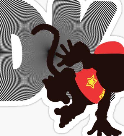 Diddy Kong (Donkey Kong version) - Sunset Shores Sticker