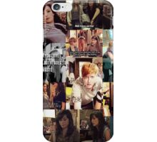 Carmilla collage iPhone Case/Skin