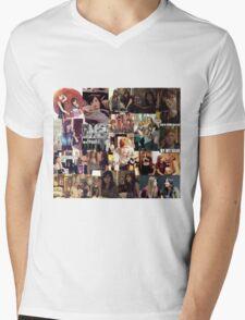 Carmilla collage Mens V-Neck T-Shirt