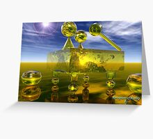 Perceptions of Reality Greeting Card