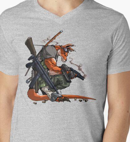 Killeroo by Andie Tong Mens V-Neck T-Shirt
